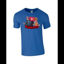 Pamkutya Classic Férfi póló kék L