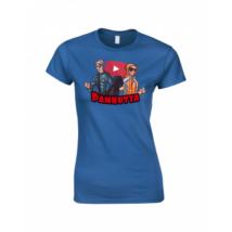 Pamkutya Classic Női póló kék S