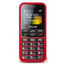 Telme C151 piros mobiltelefon