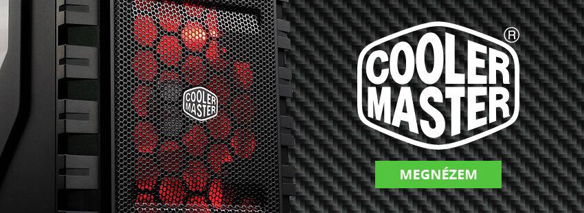 Cooler Master - Make it yours! Minden ami modder, gépépítés és gaming - eShop24.hu Vásárolj otthonról kényelmesen!