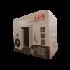 AEG LB4720 hangfal FEHÉR, 120W szinusz/220W zenei teljesítmény - Sérült csomagolás