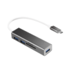 LOGILINK - USB-C 3.0 hub, 3 port, with card reader