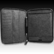 """8"""" Prestigio univerzális tablet tok, állványként is használható, zipzárral. Fekete."""