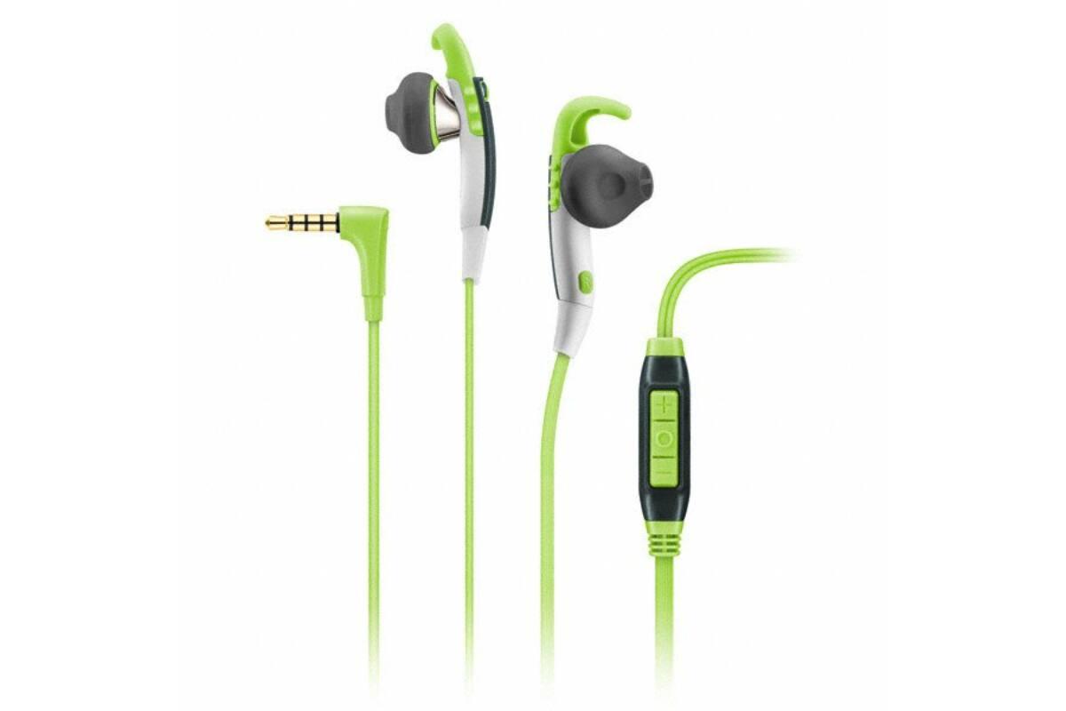 Sennheiser MX 686 SPORT Galaxy Stereo sport fülhallgató mikrofonnal - Zöld  fehér kényelmes 6383da8f23
