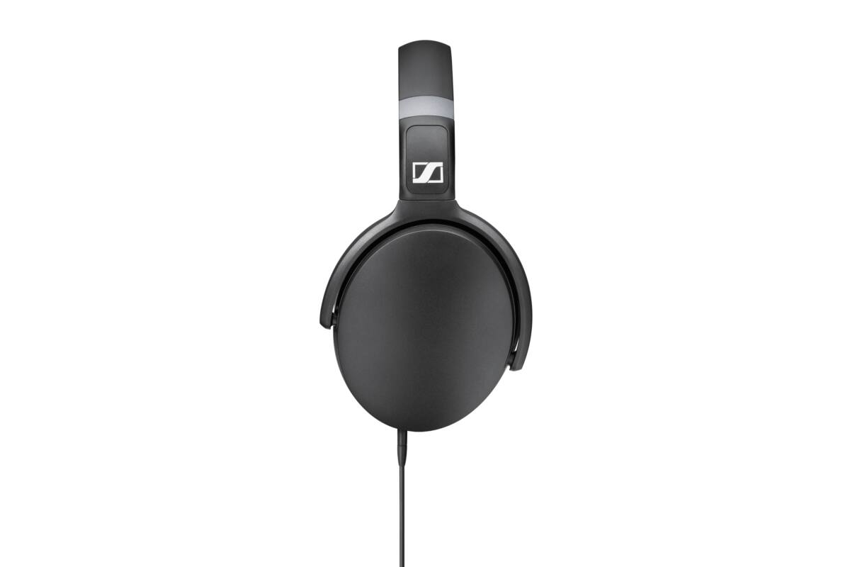 Sennheiser HD 4.30i Black Stereo fejhallgató - fekete összehajtható 3 gombos 9a694f2bab