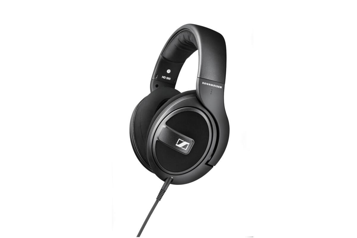Sennheiser HD 569 Stereo fejhallgató mikrofonnal fekete kagylós zárt  kialakítású 5cab4b36b7