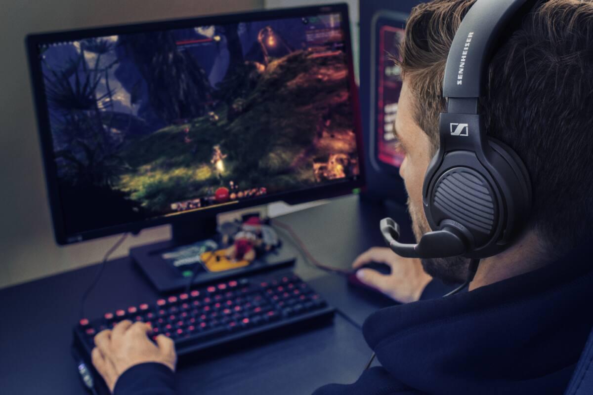 Sennheiser PC 373D PC Gamer surround fejhallgató fekete 7.1 Dolby Surround e2e69e461c