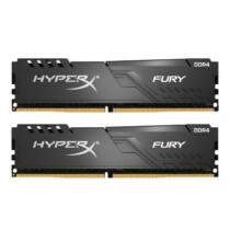 Kingston 8GB/3000MHz DDR-4 HyperX FURY fekete (Kit 2db 4GB) (HX430C15FB3K2/8) memória