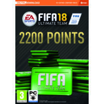 FIFA 18 2200 FUT POINTS CZ/SK/HU/RO