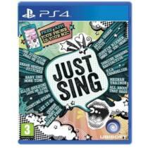 Just Sing (PS4) Játékprogram