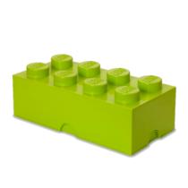 LEGO Storeage Brick 8 - Lime zöld (40041220) tároló blokk