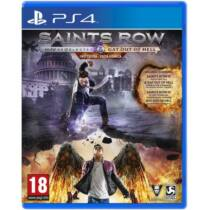 Saints Row IV Re-Elected & Gat Out of Hell [First Edition] (PS4) Játékprogram