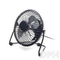 "Gembird NF-03 4""-os fekete asztali ventilátor"