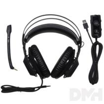 Kingston HyperX Cloud Revolver S Fekete 3,5 Jack gamer headset