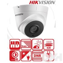 Hikvision DS-2CE56D0T-IT3F kültéri, 2MP, 2,8mm, IR40m, 4in1 HD analóg Turret kamera