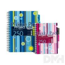 Pukka Pad Project Book A4 125lapos kockás spirálfüzet