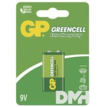 GP Greencell 9V, 6F22  elem 1db/bliszter