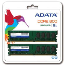 ADATA 2x1GB 800MHz DDR2, CL5, Non-ECC DIMM DUAL KIT
