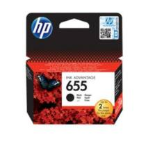 HP 655 black tintapatron