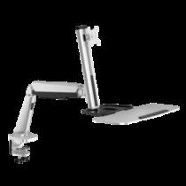 LOGILINK - Sit-stand workstation monitor desk mount,13-32'', max. 8 kg
