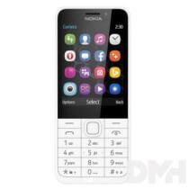 """Nokia 230 DS 2,8"""" Dual SIM ezüst mobiltelefon"""