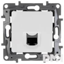 Legrand 764573 Niloé fehér RJ45 Cat 6 UTP csatlakozóaljzat