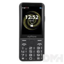 """myPhone Halo Q+ 2,8"""" 3G Dual SIM fekete mobiltelefon"""