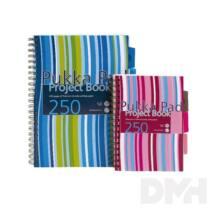 Pukka Pad Project Book A4 125lapos vonalas spirálfüzet
