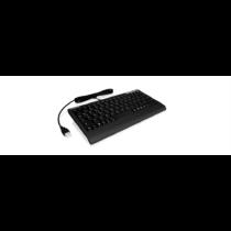 IcyBox KeySonic mini billentyűzet, PS/2, USB 2.0, Fekete