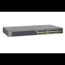 Netgear 24-Port Gigabit PoE+ Smart Pro Switch with 4 SFP Ports 380W(GS728TPP v2)