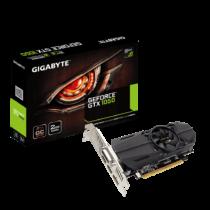 Gigabyte GeForce GTX 1050 OC Low Profile 2G, 2GB GDDR5, HDMI/DP/DVI