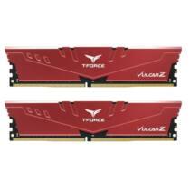 Team Group Vulcan Z Memória DDR4 8GB (2x4GB) 3000MHz CL16 1.35V XMP 2.0 Piros