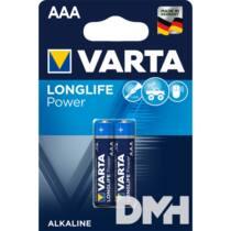 VARTA High Energy AAA (LR03) alkáli mikro ceruza elem 2db/bliszter