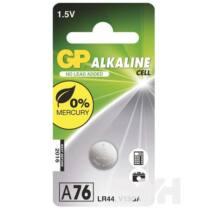 GP LR44 (A76) alkáli gombelem 1db/bliszter