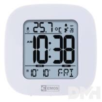 Emos E0126 rádióvezérelt digitális ébresztő óra