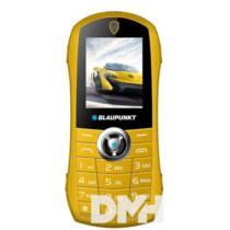 """Blaupunkt Car 1,8"""" sárga mobiltelefon + Hello Kártyás Expressz csomag"""