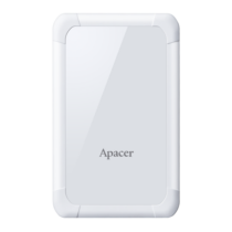 External HDD Apacer AC532 2.5'' 1TB USB 3.1, shockproof, White