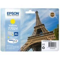 Epson T702 yellow XL tintapatron | 2000old | WP4000/4500
