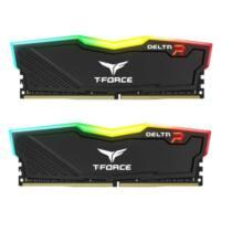 Team Group Delta RGB DDR4 32GB (2x16GB) 2400MHz CL15 1.2V Black