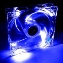 Akyga System fan 12 cm LED blue AW-12A-BL Molex 120x120 mm