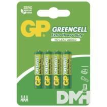 GP Greencell 24G 4db/blister mikro ceruza (AAA) elem