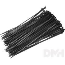 Somogyi 400x4,8mm fekete vezetékkötegelő 25 db