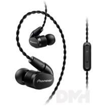 Pioneer SE-CH5T-K Hi-Res fekete mikrofonos fülhallgató
