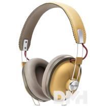 Panasonic RP-HTX80BE-C Bluetooth mustársárga design mikrofonos fejhallgató