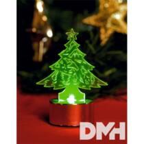 Home CDM 1/P LED-es fenyőfa mécses karácsonyi dekoráció
