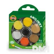 Koh-I-Noor brillant kerek 24 színű vízfesték készlet