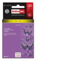 ActiveJet tinta, AB-1240YNX | Yellow | 12 ml | Brother LC1220Y,LC1240Y