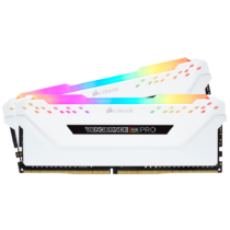 Corsair Vengeance RGB PRO Series LED 16GB, 3000MHz DDR4 CL15 WHITE