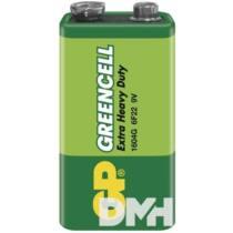 GP Greencell 9V 6F22  elem 1db/zsugor