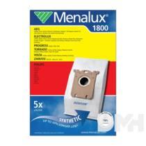 Menalux 1800 5 db szintetikus porzsák + 1 mikroszűrő